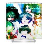 A Chorus Of Dolls - Toy Dreams 4 Shower Curtain