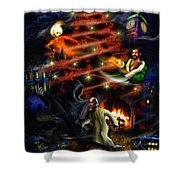 A Christmas Carol Shower Curtain
