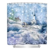 A Christmas To Remember Shower Curtain