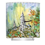 A Church In Budapest 02 Shower Curtain