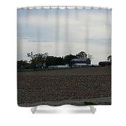 A Classic Family Farm Shower Curtain