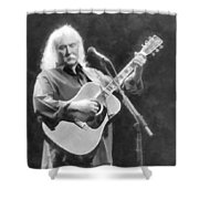 A Classic Forevermore Shower Curtain
