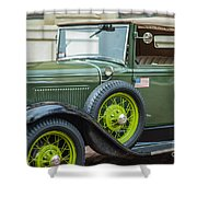 A Classic Ride Shower Curtain