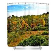 A Cleveland Landscape Shower Curtain