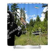 A Close Encounter Of The Garcia Kind Shower Curtain