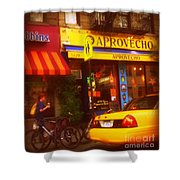 A Coffee On The Way Home Shower Curtain