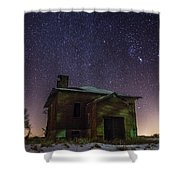A Cold Dark Place Shower Curtain