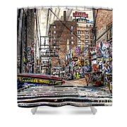 A Colorful Place To Sleep Shower Curtain