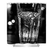 A Cool One Bw Shower Curtain