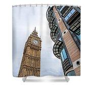 A Corner In London Shower Curtain