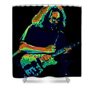 A Cosmic Cat Under The Stars Shower Curtain