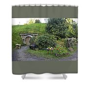 A Cosy Hobbit Home In The Shire Shower Curtain