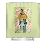 A Cottage For Two Shower Curtain