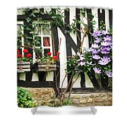 A Cottage In Normandy Shower Curtain