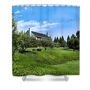 A Country Dream Shower Curtain