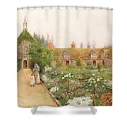 A Country Garden At Bray, Berkshire Shower Curtain
