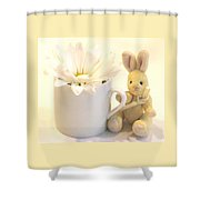 A Cup Of Cheer Shower Curtain