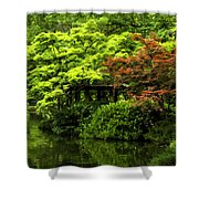 A Dab Of Color Shower Curtain