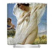 A Dance By The Sea Shower Curtain
