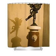 A Dancing Cupid In The Palazzo Vecchio Shower Curtain