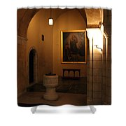 A Dark Journey For The Light Shower Curtain