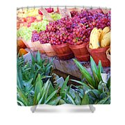 A Day At The Market #15 Shower Curtain