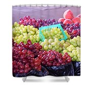 A Day At The Market #18 Shower Curtain