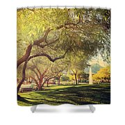 A Day For Dreaming Shower Curtain by Laurie Search