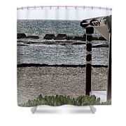 A Day In Paradise Shower Curtain