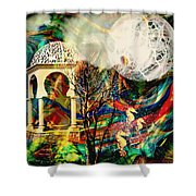 A Day In The Park Shower Curtain