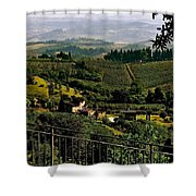 A Day In Tuscany Shower Curtain