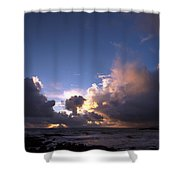 A Day Of Rain Shower Curtain