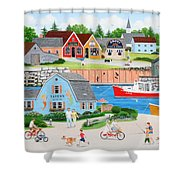 A Day With Dad Shower Curtain
