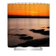 A Day's End Shower Curtain