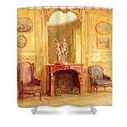A Drawing Room Shower Curtain