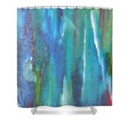 A Drift Shower Curtain