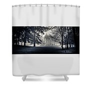 A Famous French Castle Shower Curtain