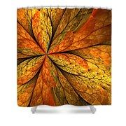 A Feeling Of Autumn Shower Curtain