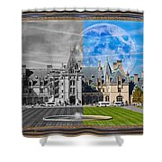 A Feeling Of Past And Present Shower Curtain