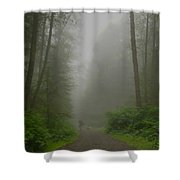 A Few Steps Into The Mist Shower Curtain