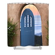 A Fine Morning Shower Curtain