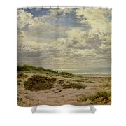 A Fine Morning On The Coast Shower Curtain