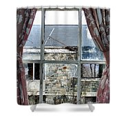 A Fine Summers Day Shower Curtain
