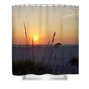 A Florida Sunset Shower Curtain