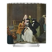 A Fortune Teller At Venice Shower Curtain