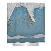 A Frame In The Mountains Shower Curtain