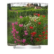 A French Country Church Shower Curtain