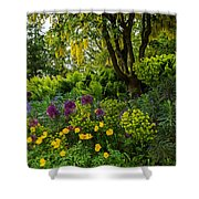 A Garden Of Color Shower Curtain
