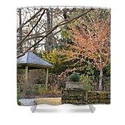A Garden Walk In February Shower Curtain