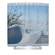 A Gentle Beauty Shower Curtain